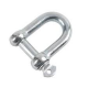 Galvanised D-Shackle